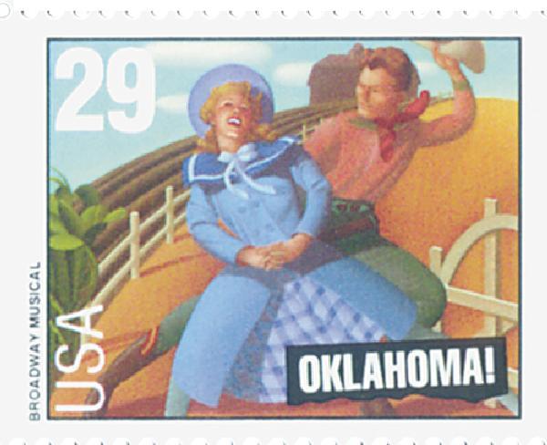 1993 29c Broadway Musicals: Oklahoma!