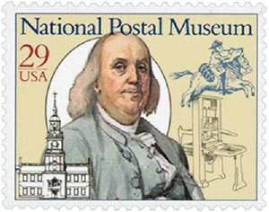 1993 29c National Postal Museum: Starting the System