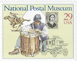 1993 29c National Postal Museum: Expanding Nation