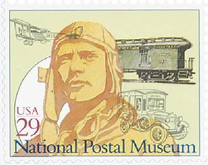 1993 29c National Postal Museum: Moving the Mail