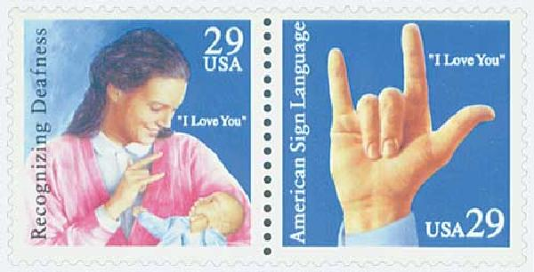 1993 29c American Sign Language