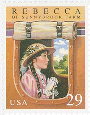 1993 29c Rebecca of Sunny Brook Farm