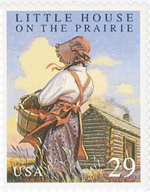 1993 29c Classic Books: Little House on the Prairie