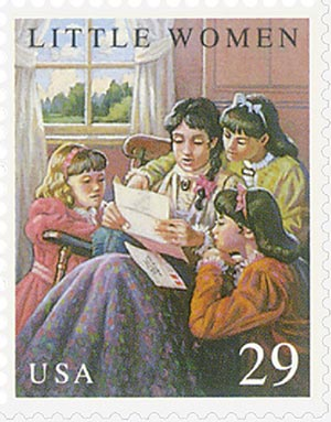 U.S. #2788 from the Children's Classic issue, which was issued to coincide with the conference of Literacy Volunteers of America.