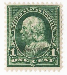 1897-1903 1c deep green