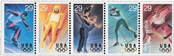 1994 29c Winter Olympics