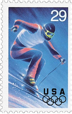1994 29c Winter Olympics: Alpine Skiing