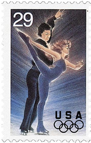 1994 29c Winter Olympics: Ice Dancing