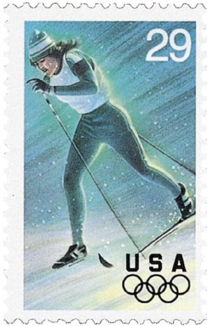 1994 29c Winter Olympics: Cross Country Skiing