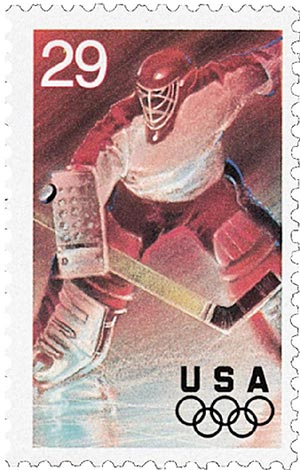 1994 29c Winter Olympics: Ice Hockey