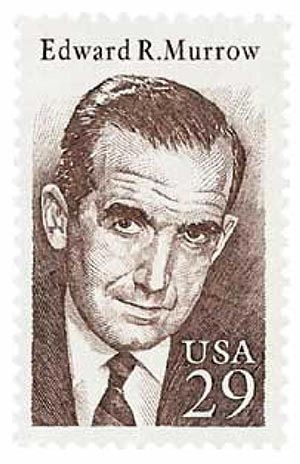1994 29c Edward R. Murrow