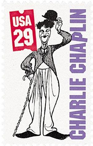 1994 29c Silent Screen Stars: Charlie Chaplin