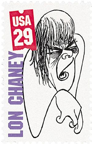 1994 29c Silent Screen Stars: Lon Chaney