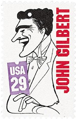 1994 29c Silent Screen Stars: John Gilbert
