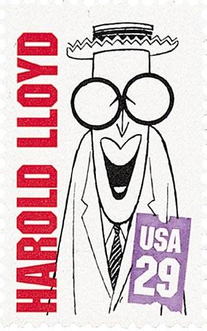 1994 29c Silent Screen Stars: Harold Lloyd