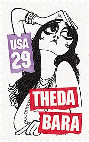 1994 29c Silent Screen Stars: Theda Bara