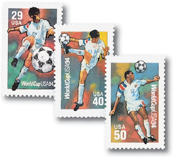 1994 29c World Cup Soccer