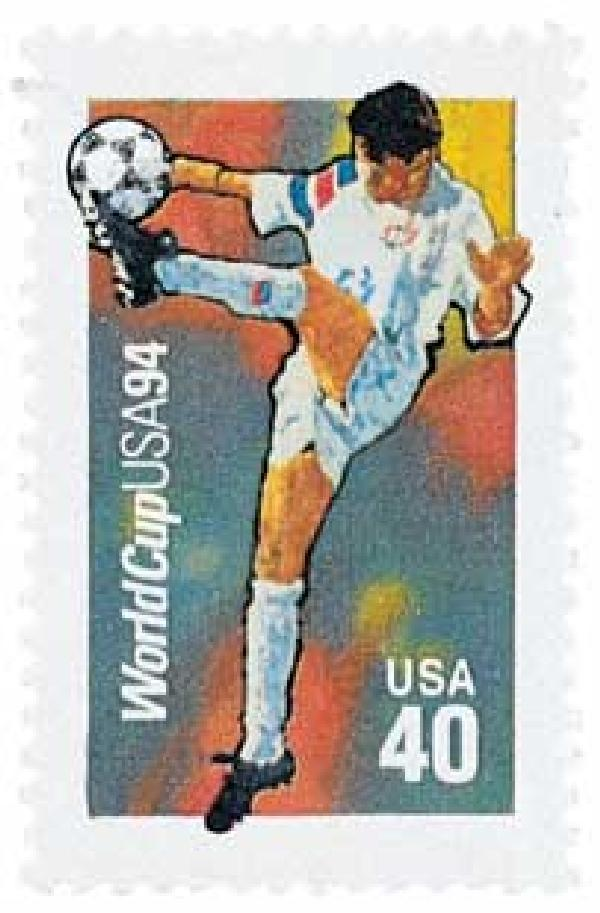 1994 29c World Cup Soccer: Trapping Maneuver