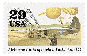 1994 29c WWII: Airborne Units Spearhead Attacks