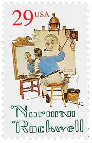 1994 29c Norman Rockwell