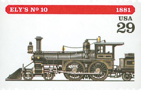 1994 29c Locomotives: Ely's #10