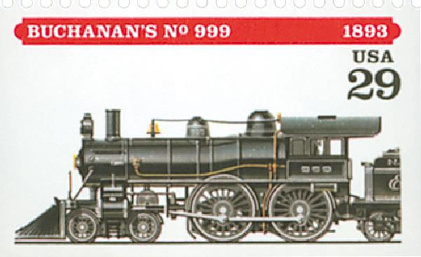 1994 29c Locomotives: Buchanan's #999