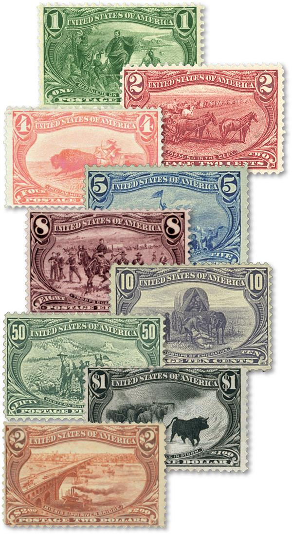 Complete Set, 1898 Trans-Mississippi
