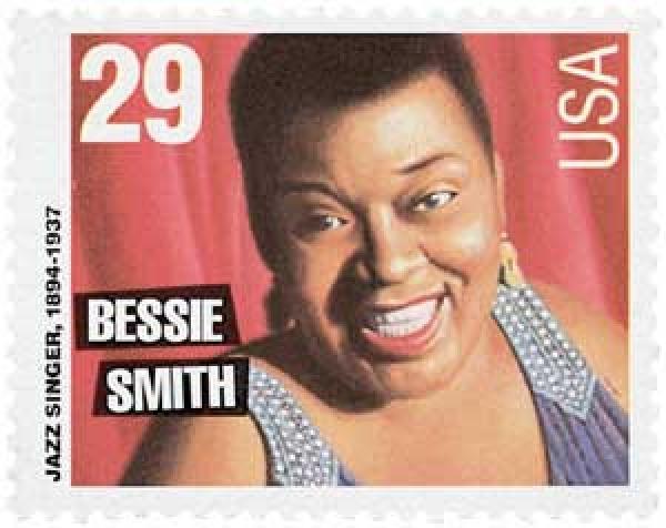 1994 29c Blues and Jazz Singers: Bessie Smith