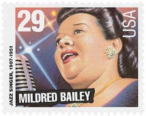 1994 29c Blues and Jazz Singers: Mildred Bailey
