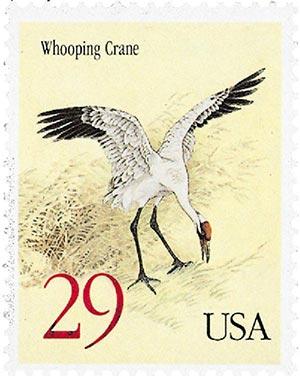1994 29c Whooping Crane