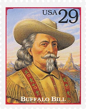 1994 29c Legends of the West: Buffalo Bill