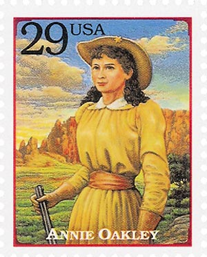 1994 29c Legends of the West: Annie Oakley