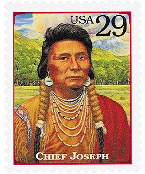 1994 29c Legends of the West: Chief Joseph
