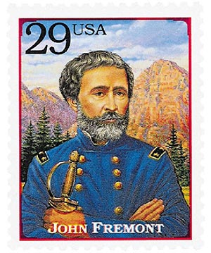 1994 29c Legends of the West: John Fremont