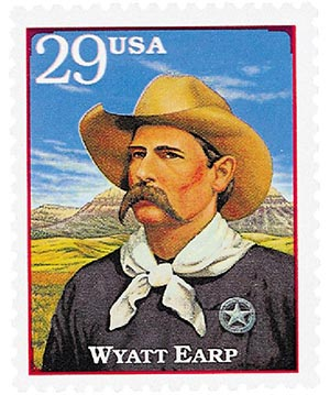 1994 29c Legends of the West: Wyatt Earp