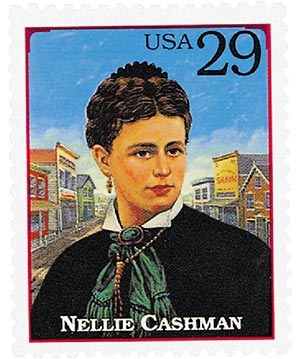 1994 29c Legends of the West: Nellie Cashman