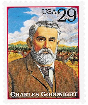1994 29c Legends of the West: Charles Goodnight