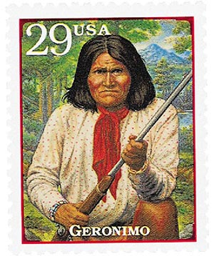 1994 29c Legends of the West: Geronimo