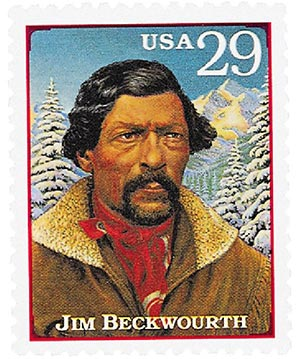1994 29c Legends of the West: Jim Beckwourth