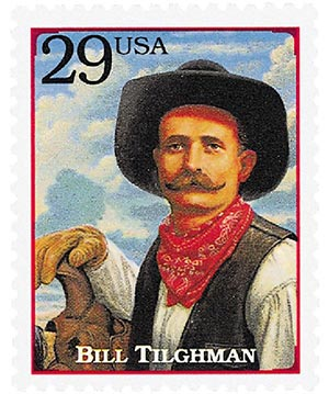 1994 29c Legends of the West: Bill Tilghman