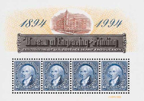 1994 $2 Bureau of Engraving and Printing Centenary