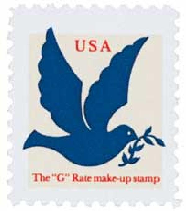 1994 3c Dove, SV Make-up rate