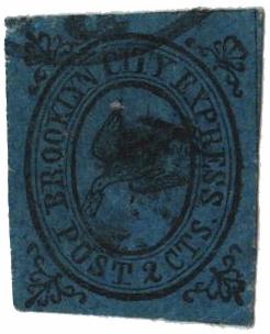 1855-64 1c black