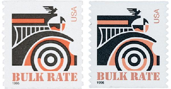 1995-96 American Transportation 2 Stamps