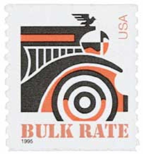 1995 10c Automobile, coil stamp
