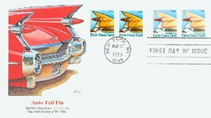 1995 15c Auto Tail Fin First Day Cover