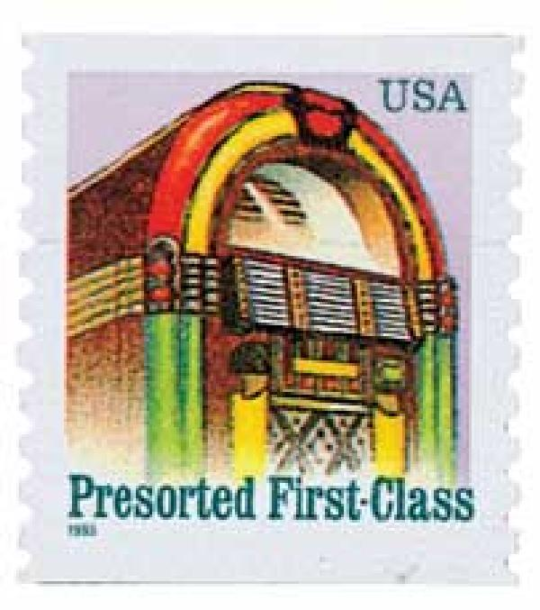 U.S. #2911 was issued to pay the postage for the first-class, presort letter rate.