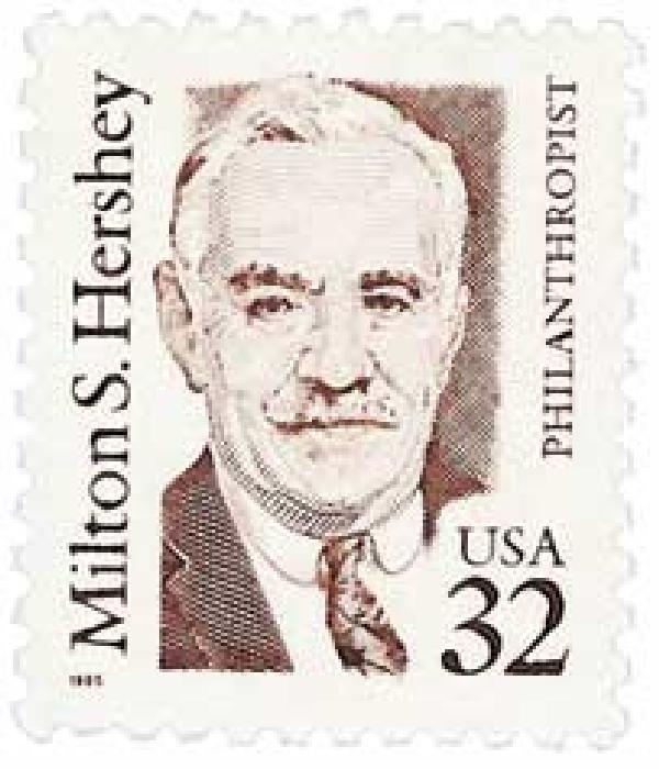 1995 32c Great Americans: Milton S. Hershey