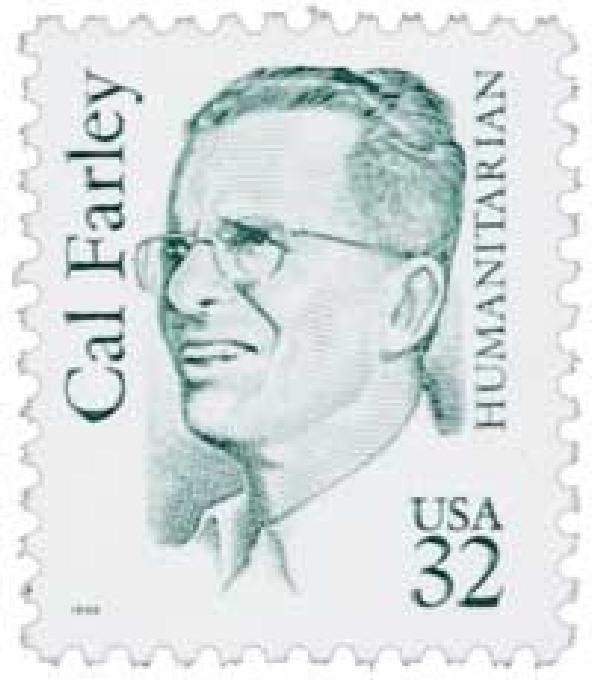1996 32c Great Americans: Cal Farley