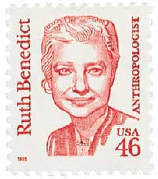 1995 46c Great Americans: Ruth Benedict
